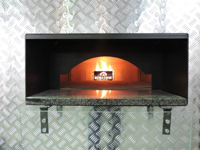 Forno 125 a gas per pizzerie forni gas forni kuma forni - Forno gas per pizza ...