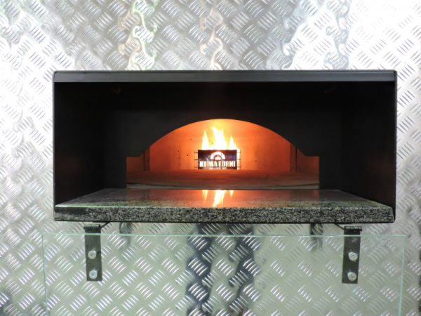 Gas pizza oven 125 for pizzerias