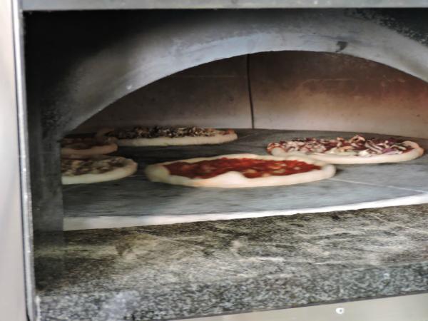 Installation der pizzaöfen